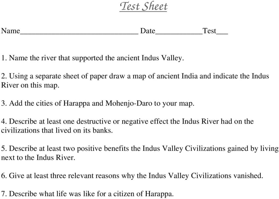 The Ancient Indus Valley Civilization Pdf