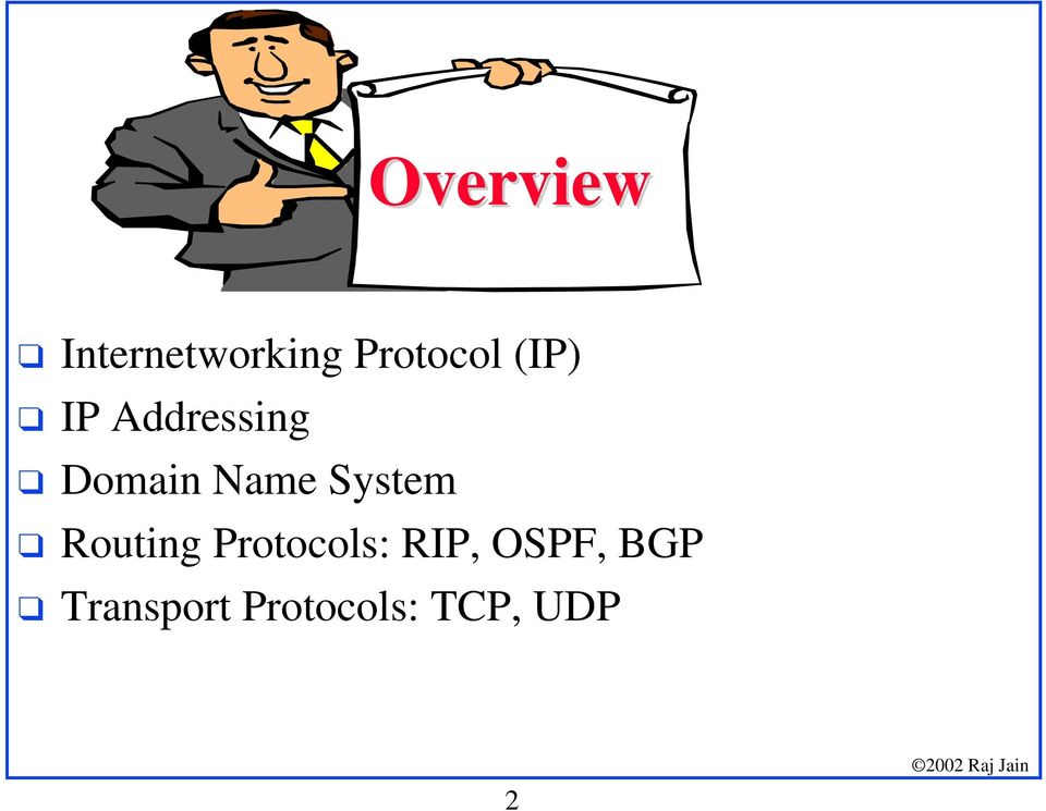 IP Addressing! Domain Name System!