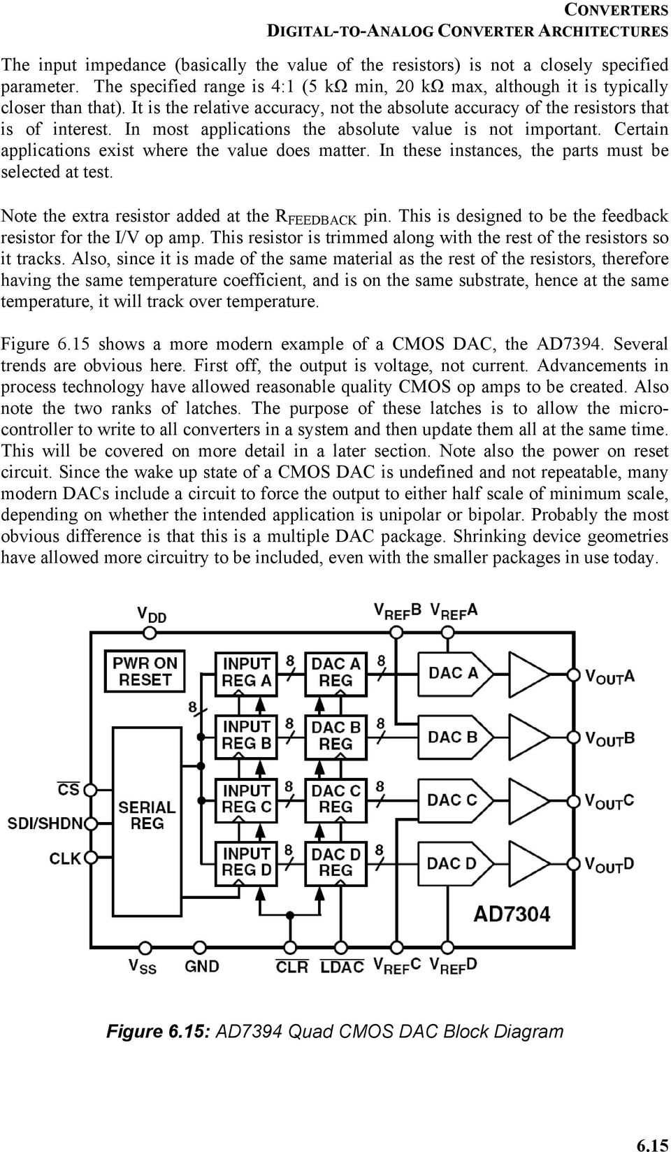Chapter 6 Converters Pdf This Digitaltoanalog Converter Dac Integrated Circuit Is Designed In Most Applications The Absolute Value Not Important Certain Exist Where