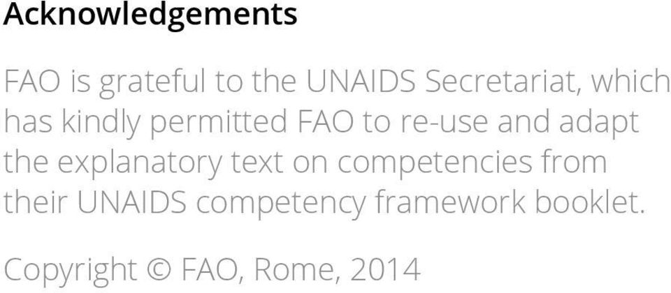 and adapt the explanatory text on competencies from