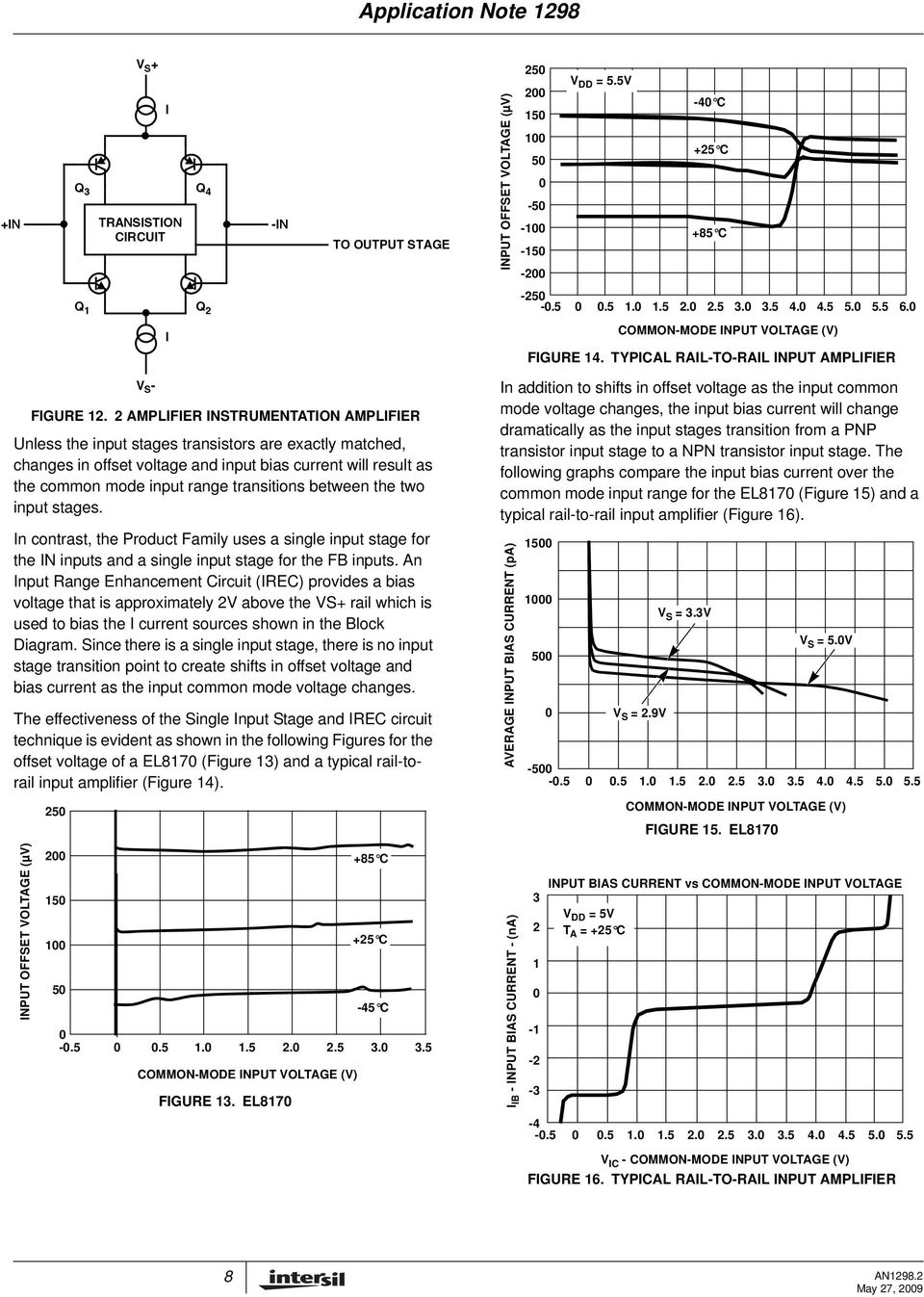 Instrumentation Amplifier Application Note Pdf Where Can You Find An With A Single Input And What Voltage Between The Two Stages In Contrast Product Family Uses