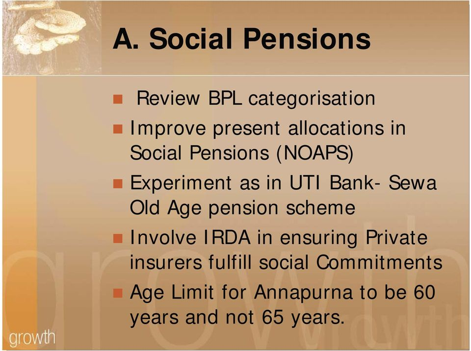 Sewa Old Age pension scheme Involve IRDA in ensuring Private insurers