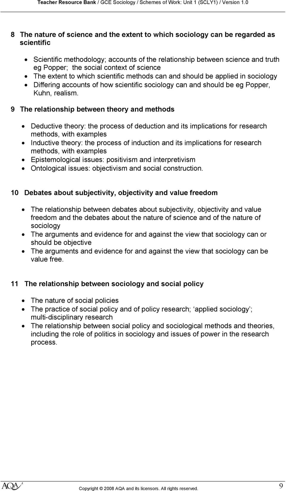 9 The relationship between theory and methods Deductive theory: the process of deduction and its implications for research methods, with examples Inductive theory: the process of induction and its