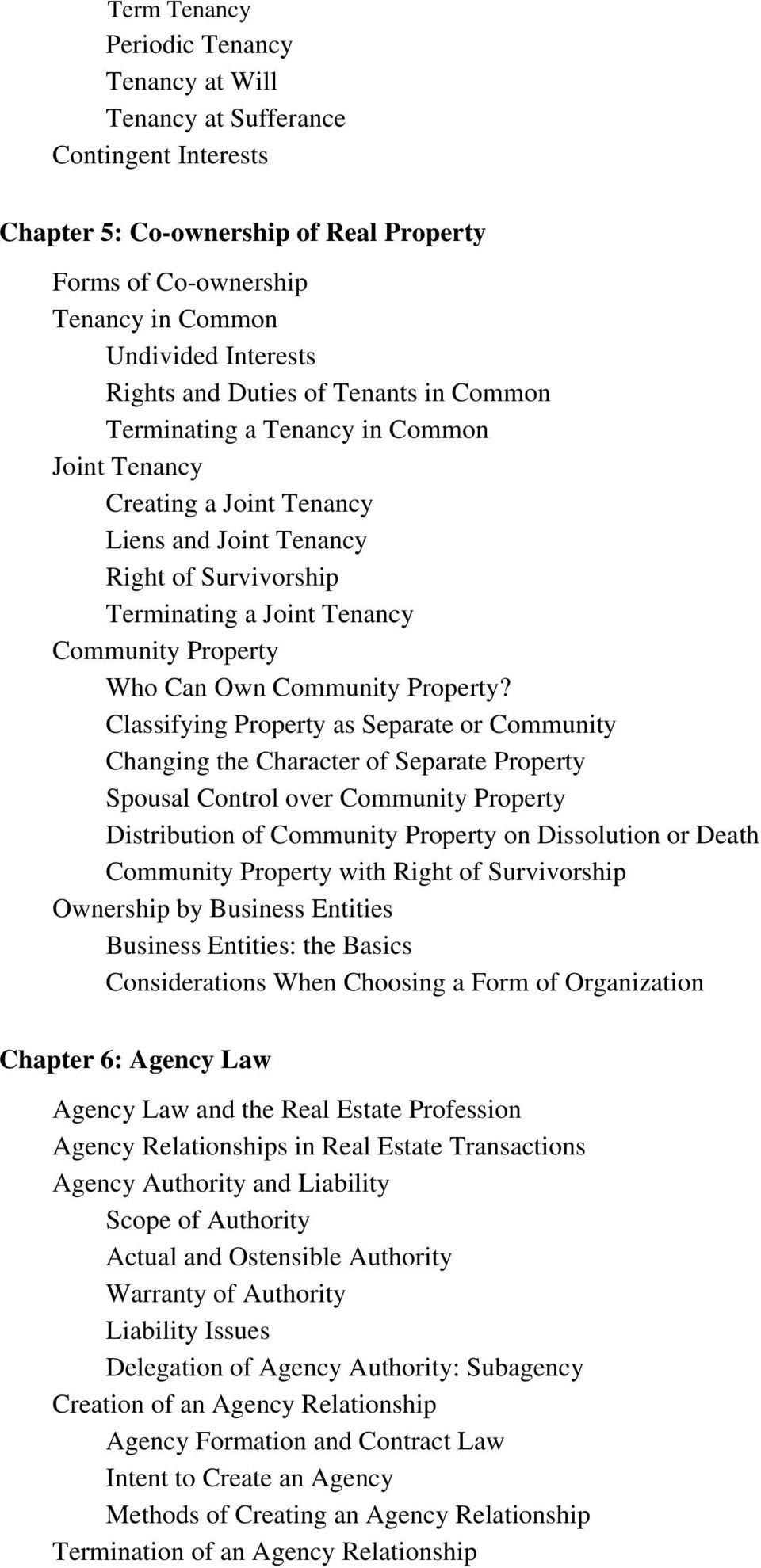 Can Own Community Property?