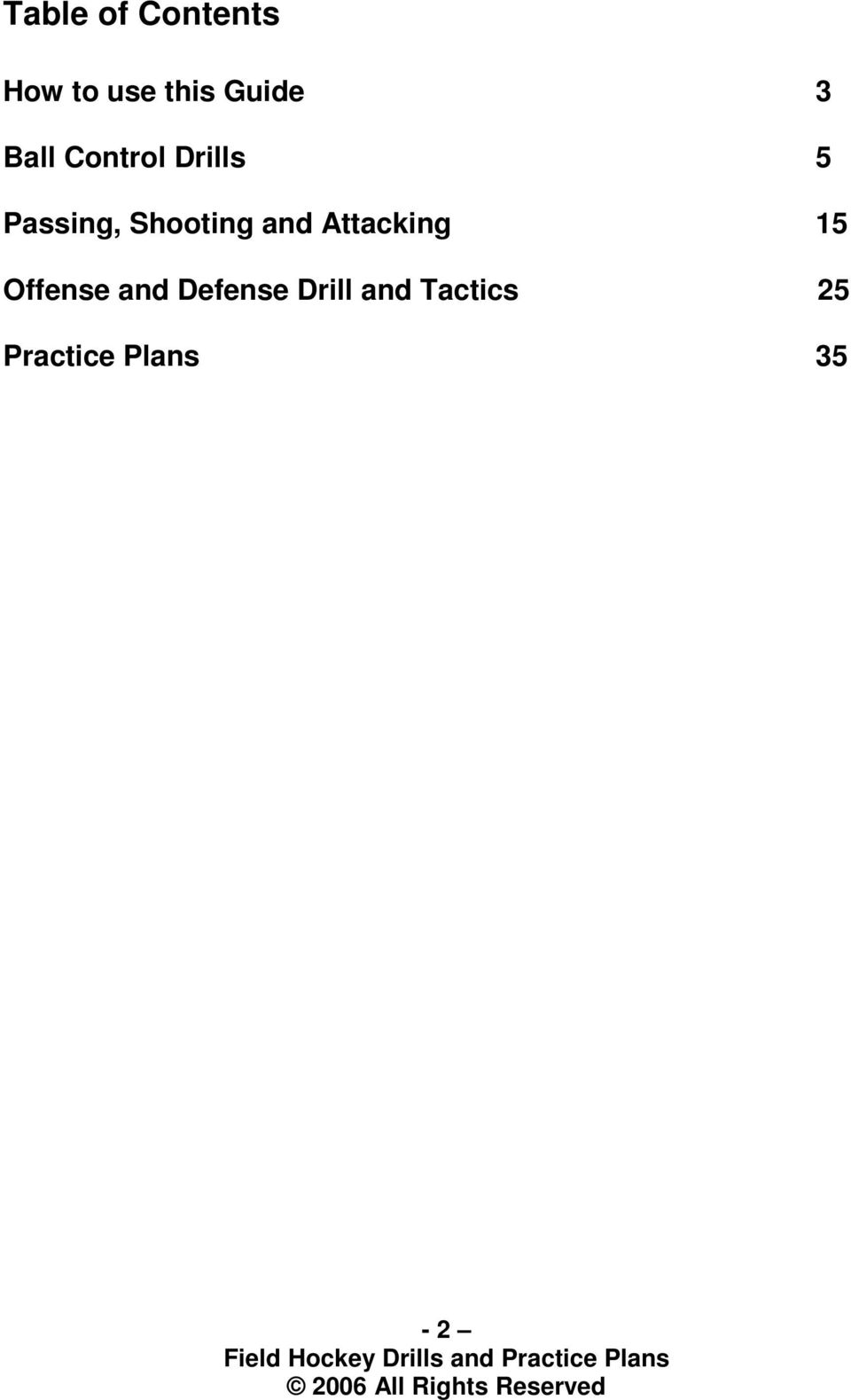 Shooting and Attacking 15 Offense and