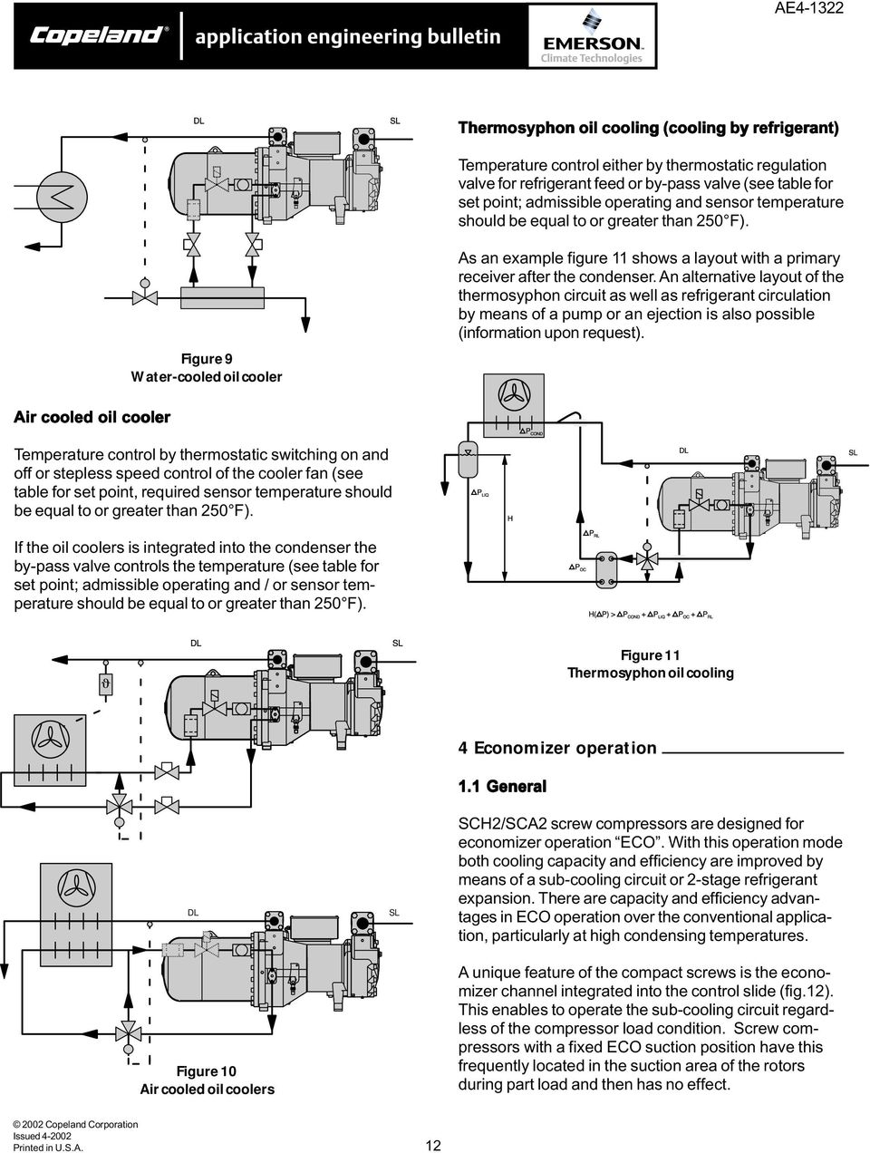 copeland semi hermetic compressor manual