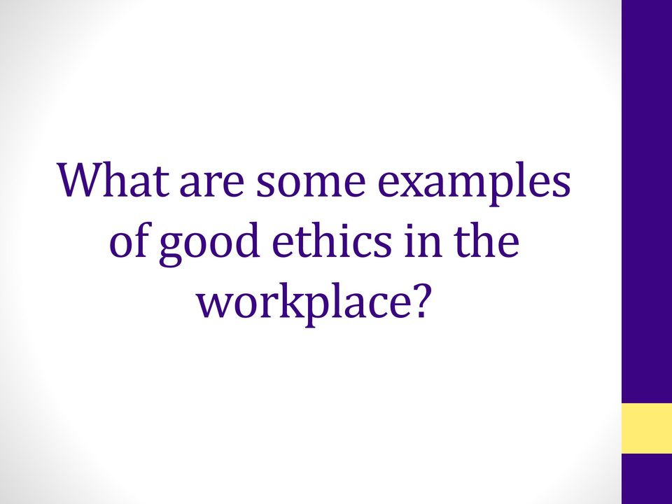 ethics in the workplace. epcc career services career epcc - pdf