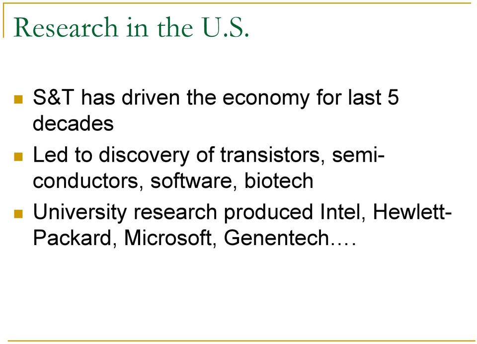 discovery of transistors, semiconductors, software,