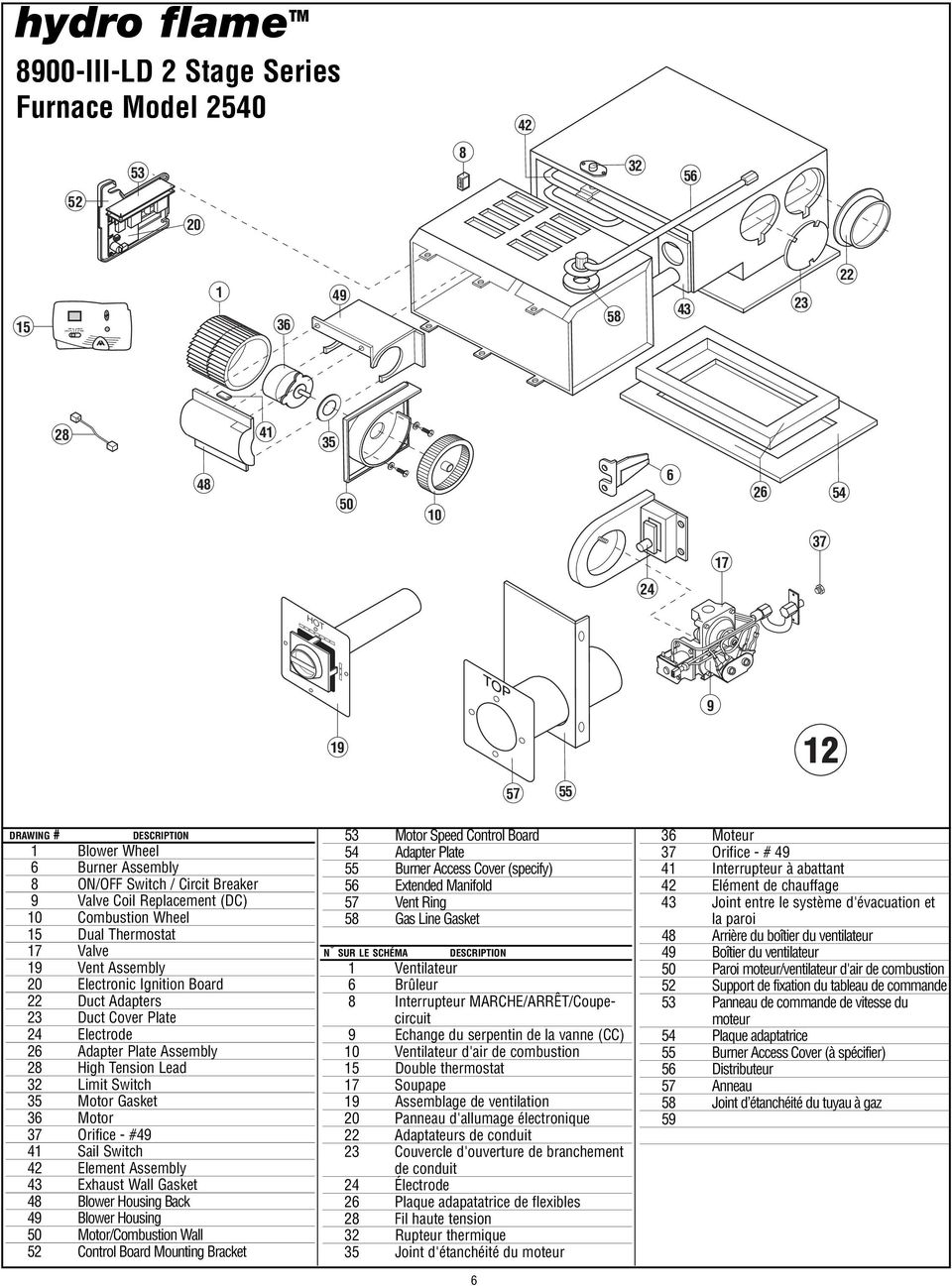 technical installation manual patent no us 6 464 000 6 719 207  adapters 23 duct cover plate 24 electrode 26 adapter plate assembly 28 high tension lead 32