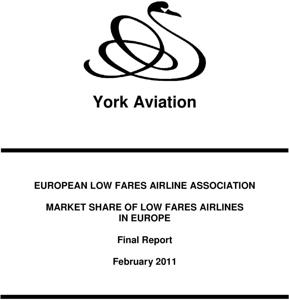 MARKET SHARE OF LOW FARES