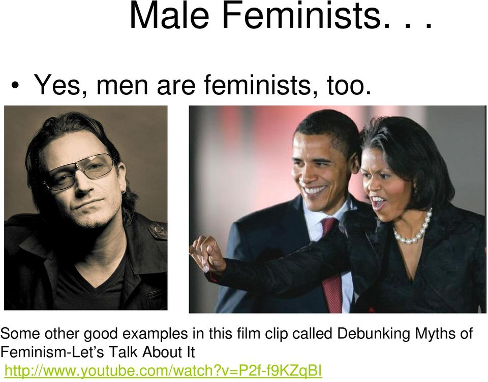 called Debunking Myths of Feminism-Let s Talk