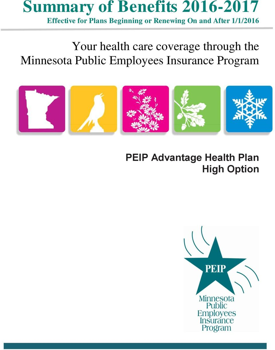 health care coverage through the Minnesota Public
