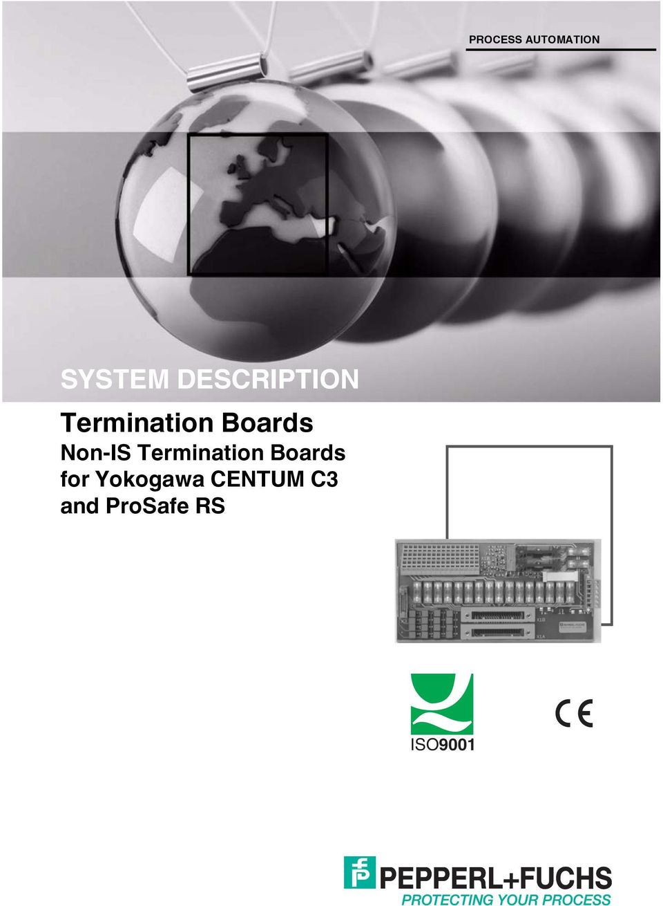 Non-IS Termination Boards for