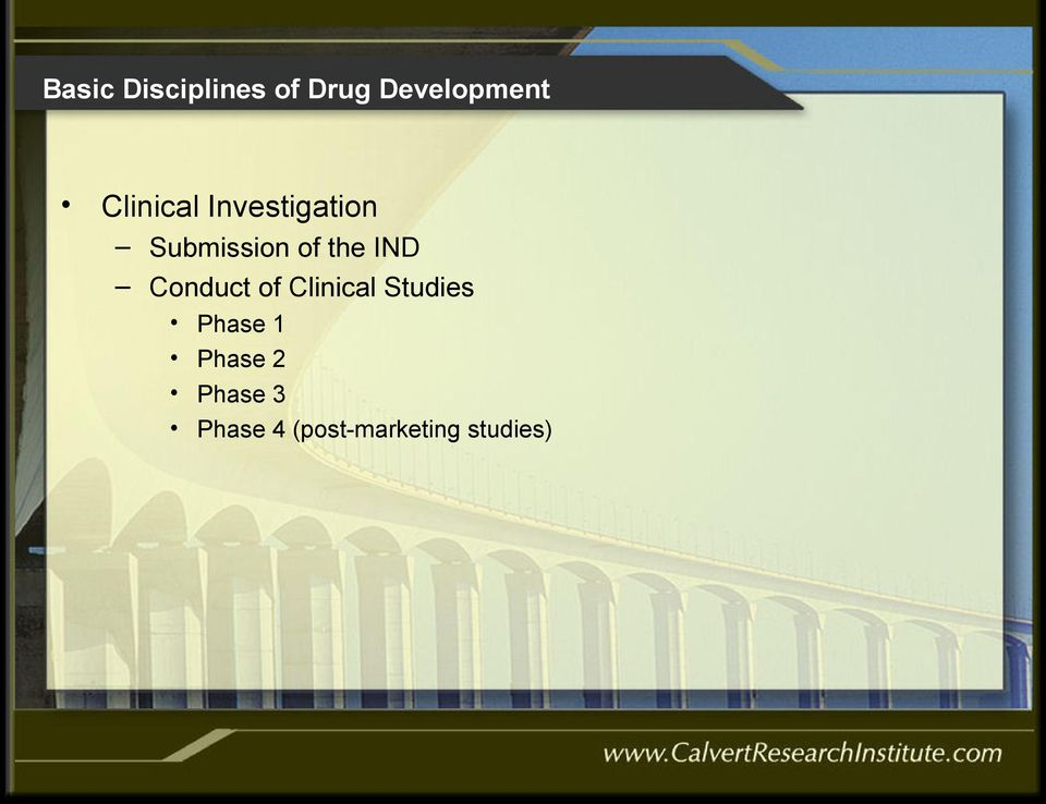 Clinical Studies Phase 1 Phase 2