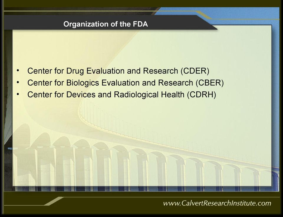 Biologics Evaluation and Research (CBER)
