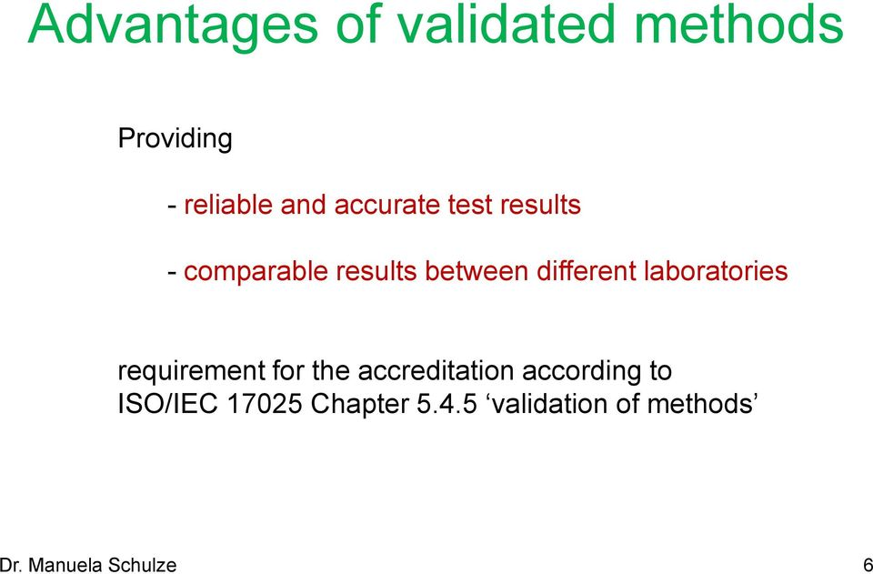 laboratories requirement for the accreditation according to
