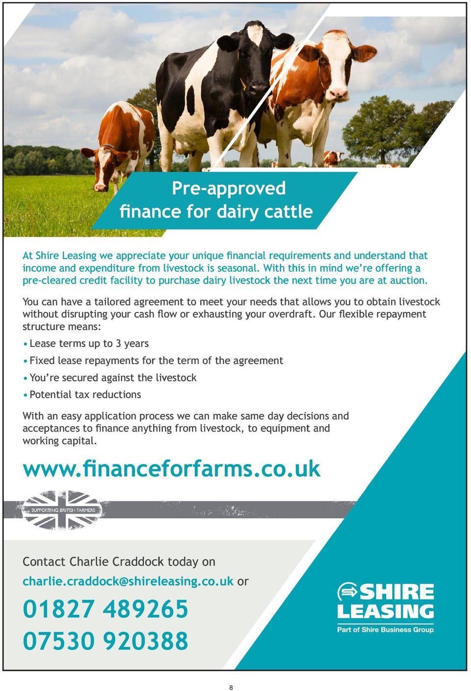 The Mid Month Focus Milk Sale Supported By The Western Holstein Club