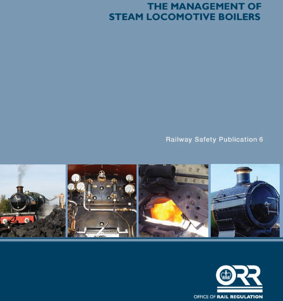 THE MANAGEMENT OF STEAM LOCOMOTIVE BOILERS - PDF