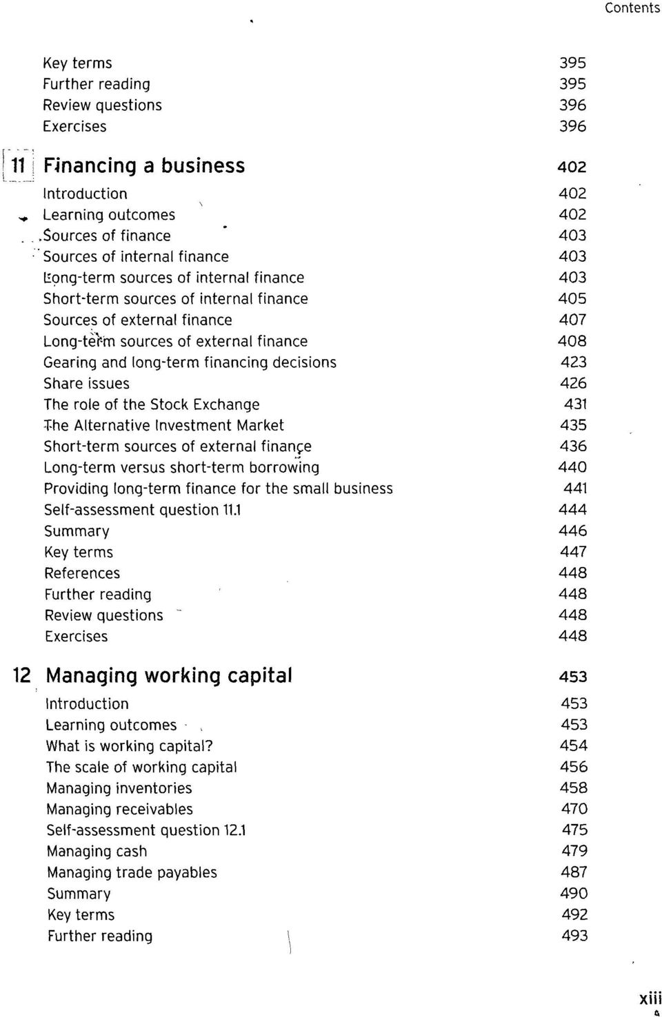 external finance 408 Gearing and long-term financing decisions 423 Share issues 426 The role of the Stock Exchange 431 T-he Alternative Investment Market 435 Short-term sources of external finance