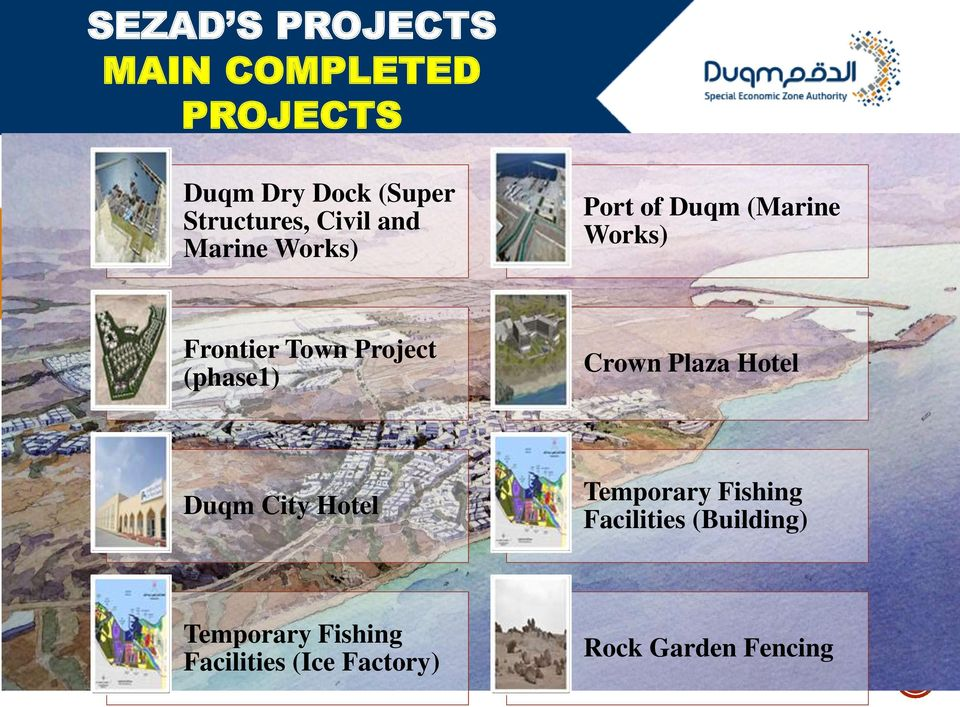 (phase1) Crown Plaza Hotel Duqm City Hotel Temporary Fishing Facilities