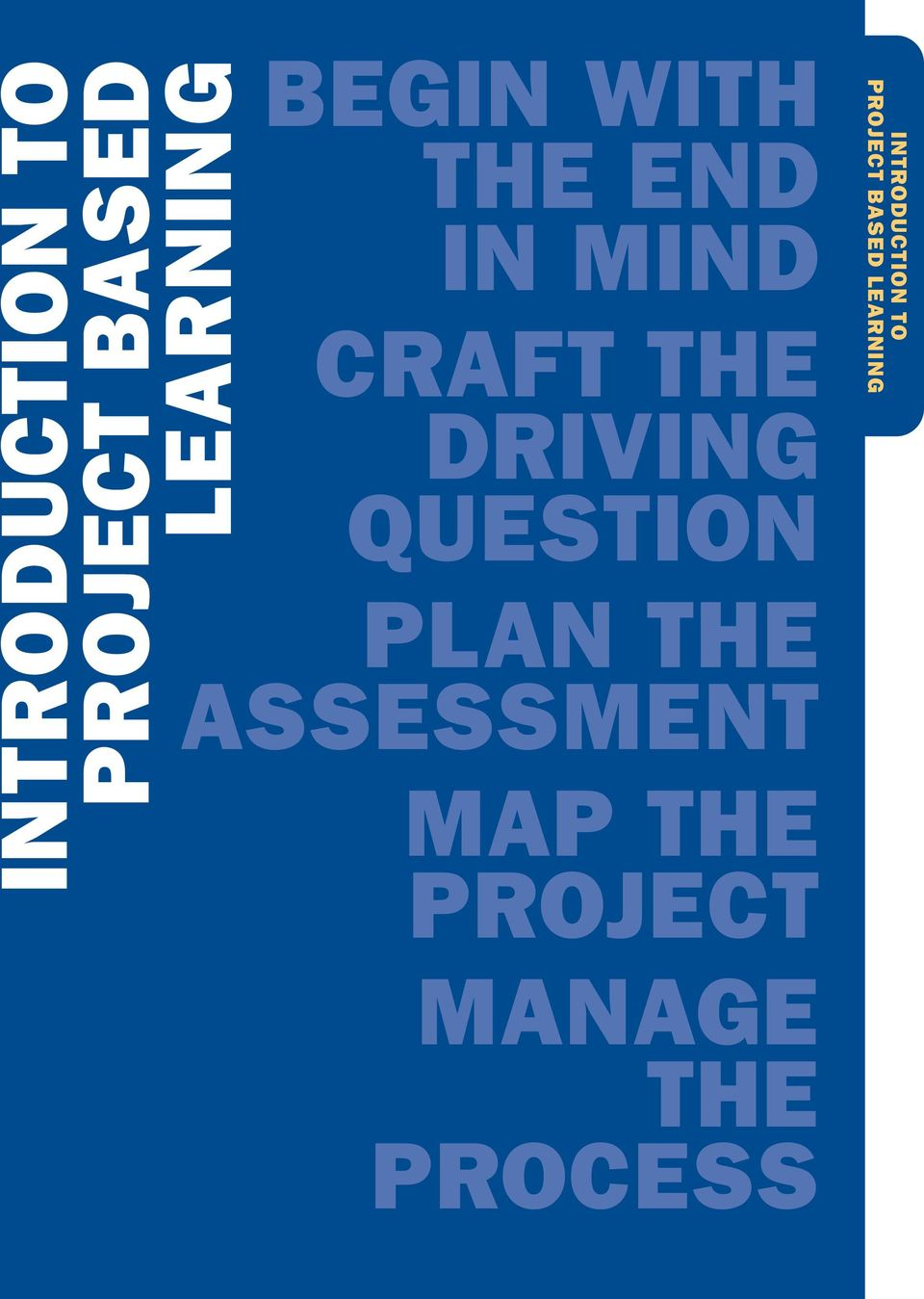 QUESTION PLAN THE ASSESSMENT MAP THE PROJECT