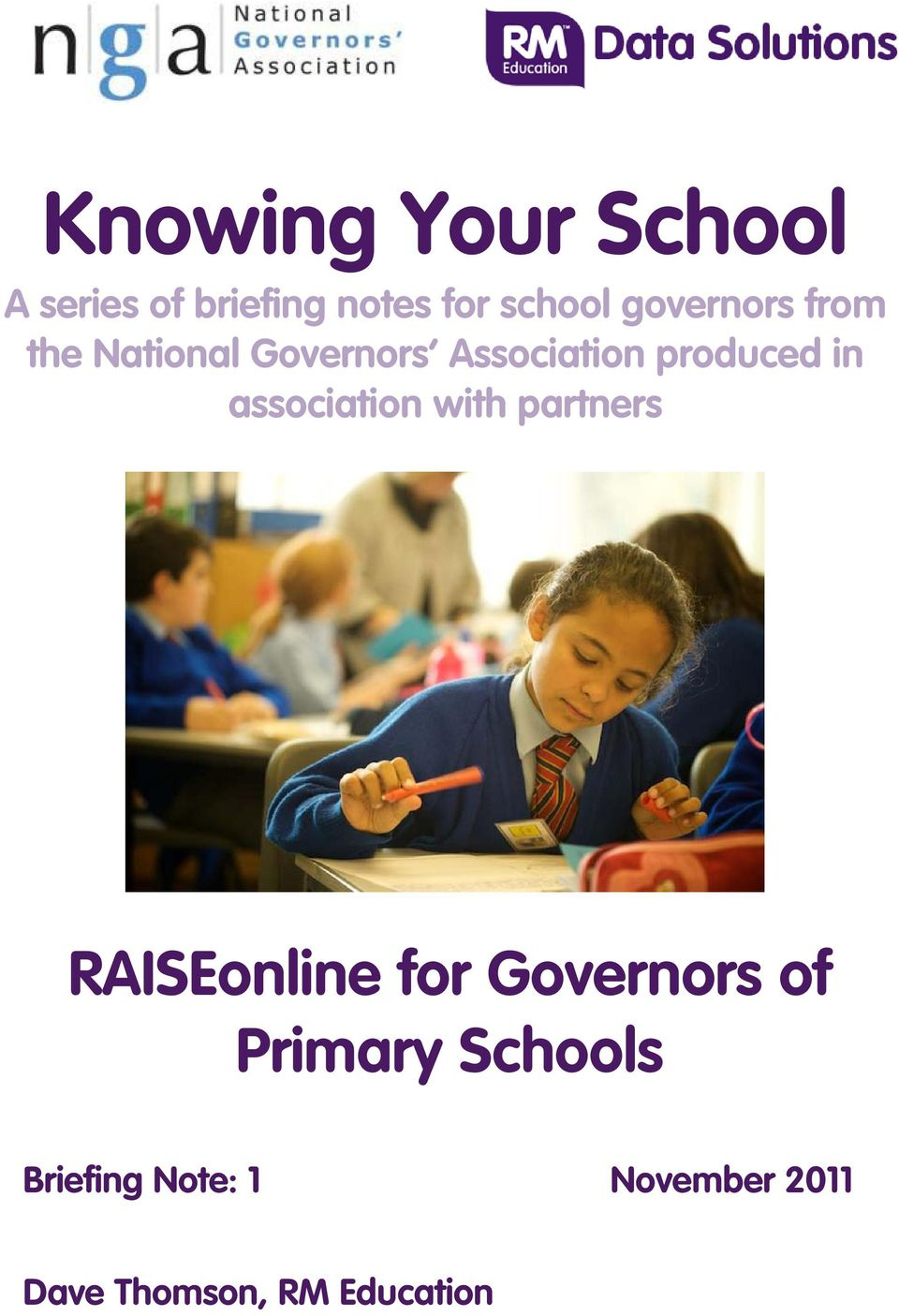 association with partners RAISEonline for Governors of