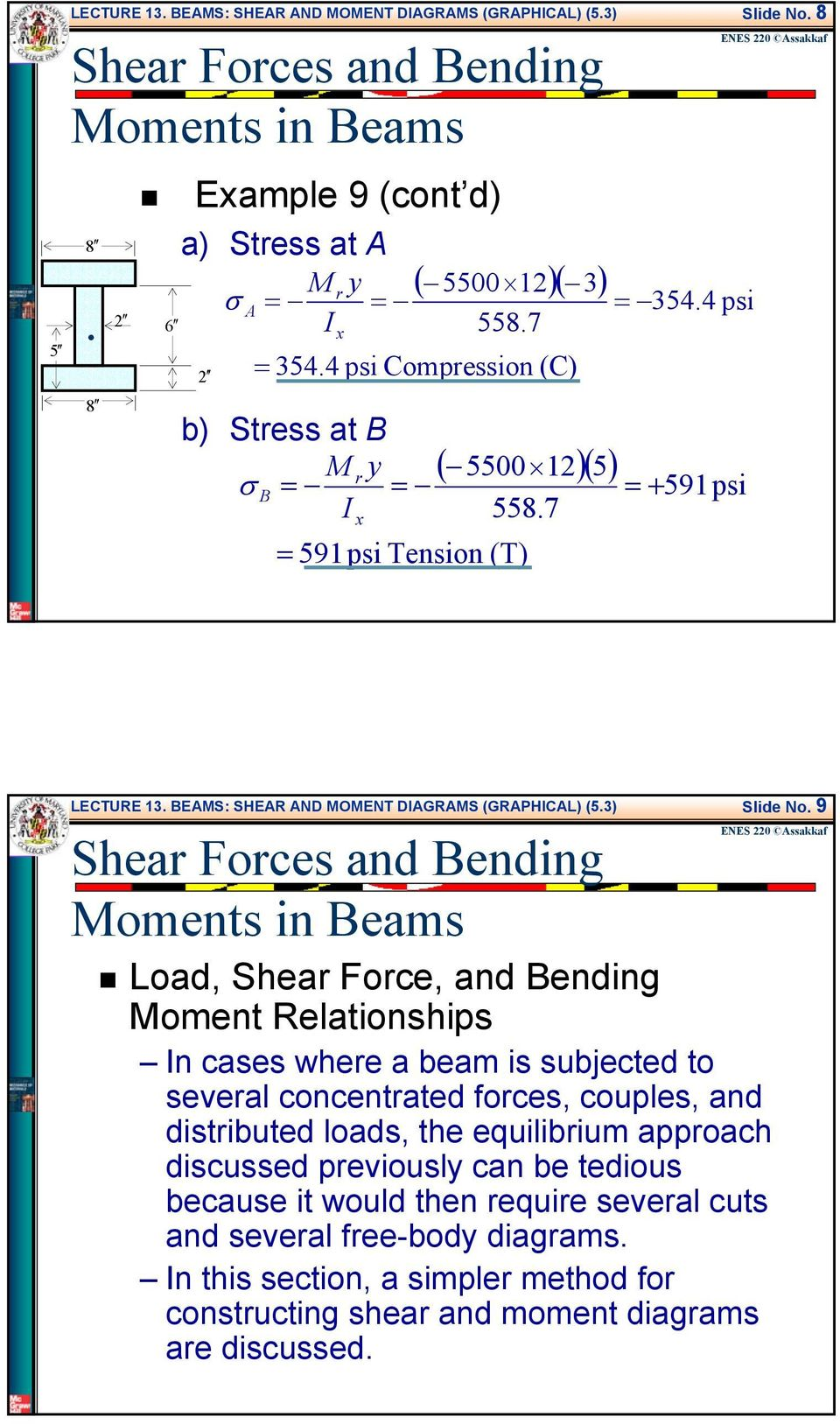 Beams Shear And Moment Diagrams Graphical Pdf Freebody Be Of Body Segments Involved In This Movement Bes Sher Nd Oent Digrs Grphicl 53 Slide No