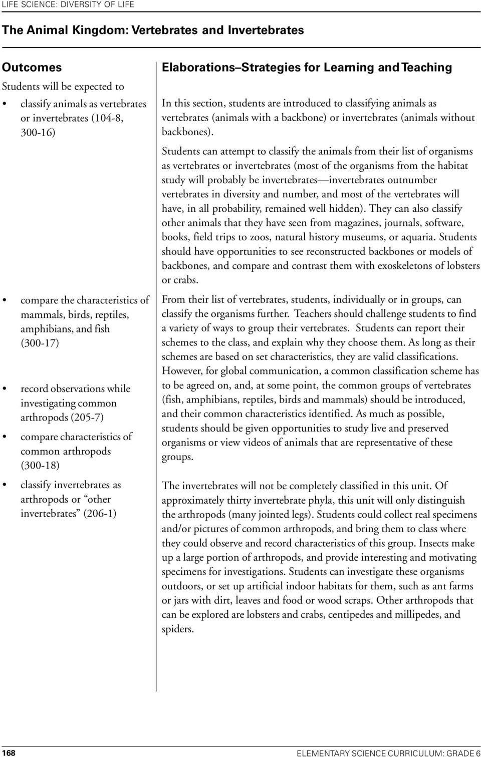 Grade 6 Life Science Diversity Of Pdf Bitesize Physics Series And Parallel Circuits Revision Page 4 Arthropods Or Other Invertebrates 206 1 Elaborations Strategies For Learning Teaching In
