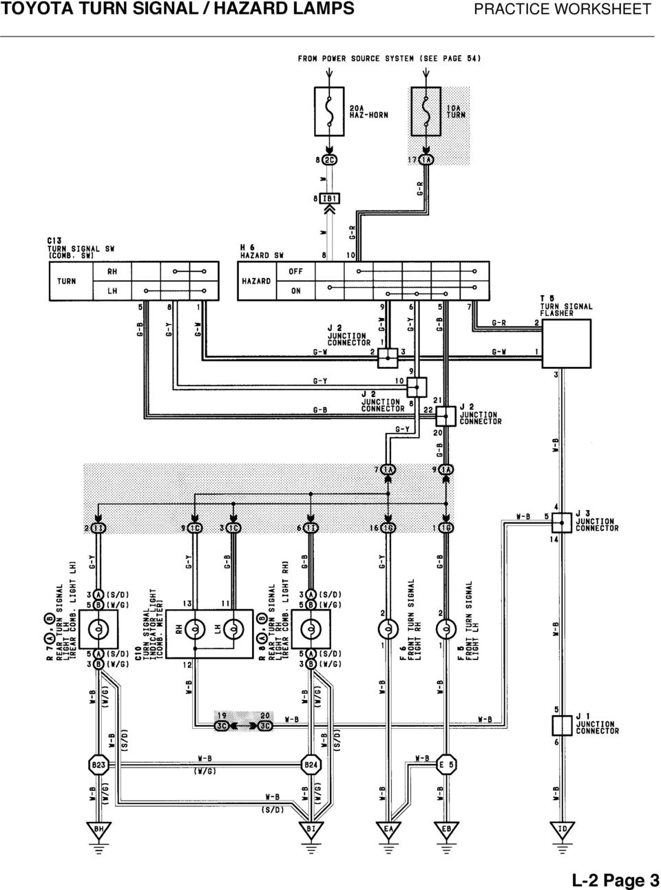 Toyota Previa Headlight Wiring Diagram Electrical Diagrams 1996 Agya Ignition