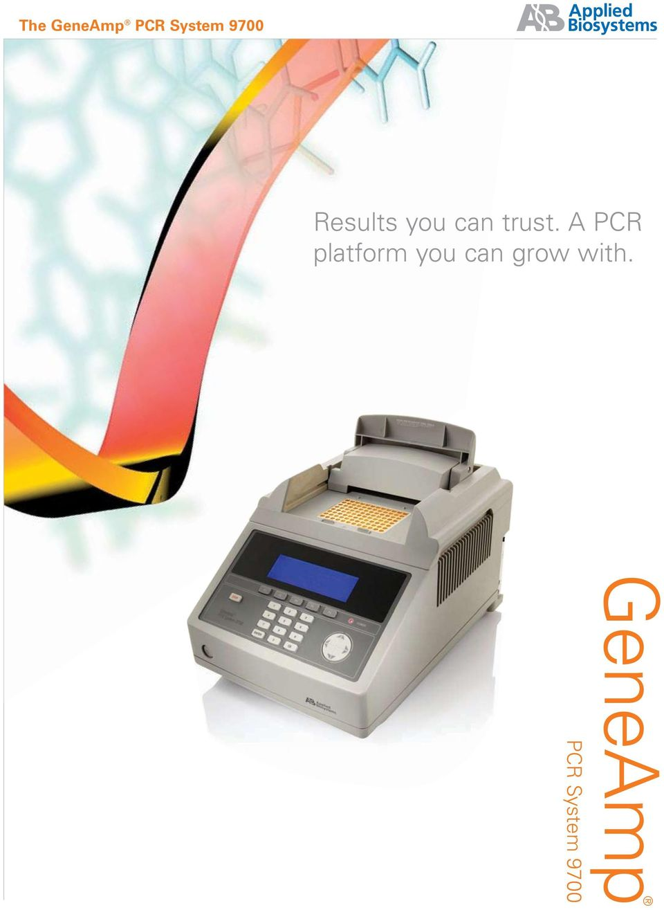 A PCR platform you can
