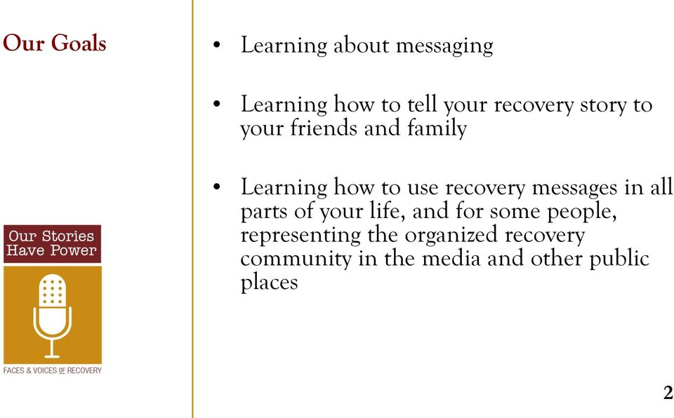 recovery messages in all parts of your life, and for some people,