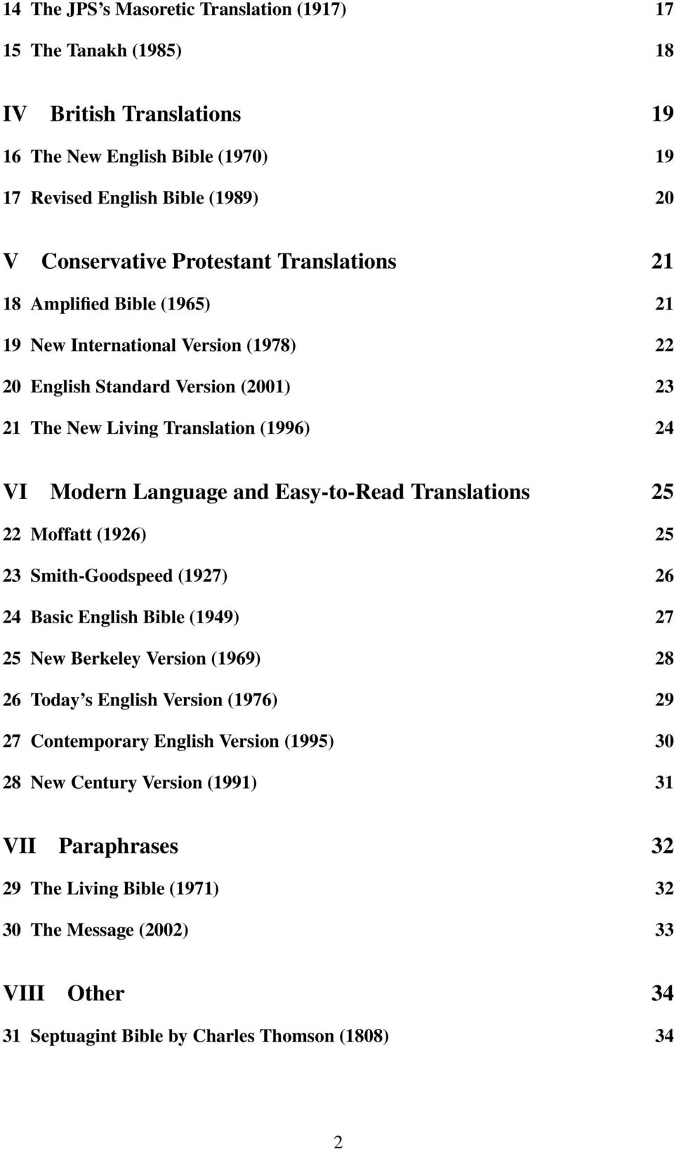 Various Translations of Psalm 23 a - PDF