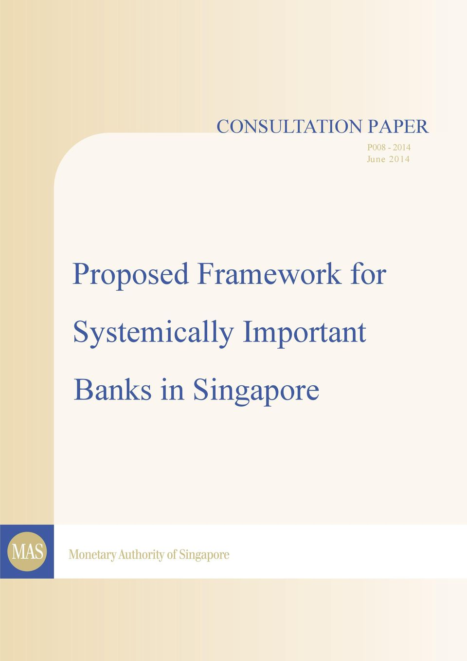 Proposed Framework for