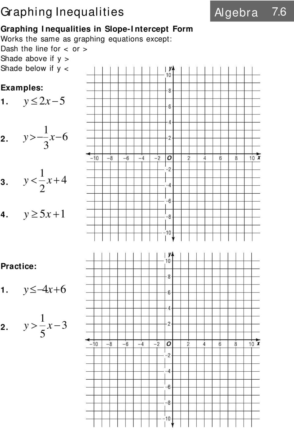 Graphing a system of equations algebra pdf graphing equations except dash the line for or falaconquin