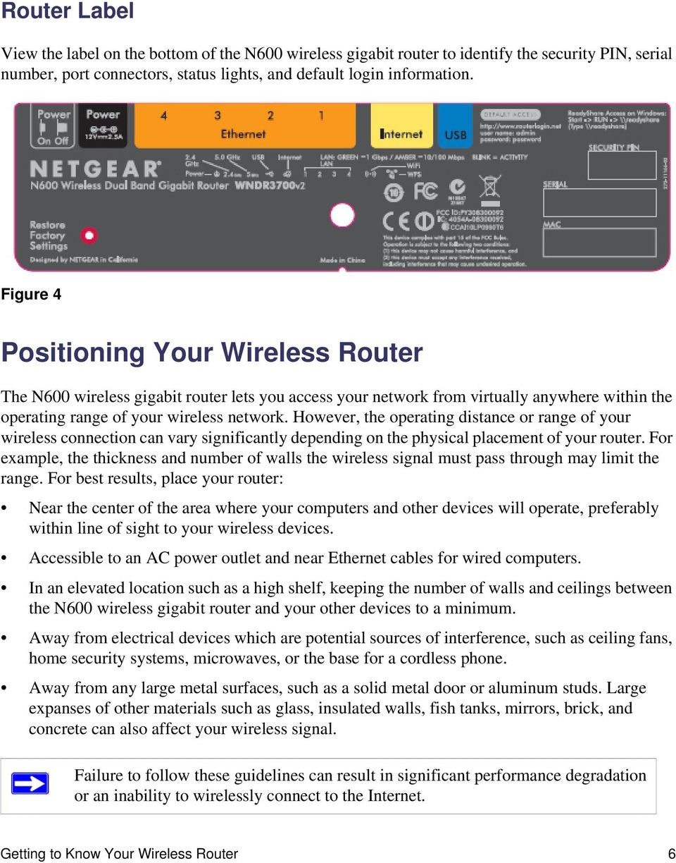 N600 Wireless Dual Band Gigabit Router WNDR3700v2 Setup