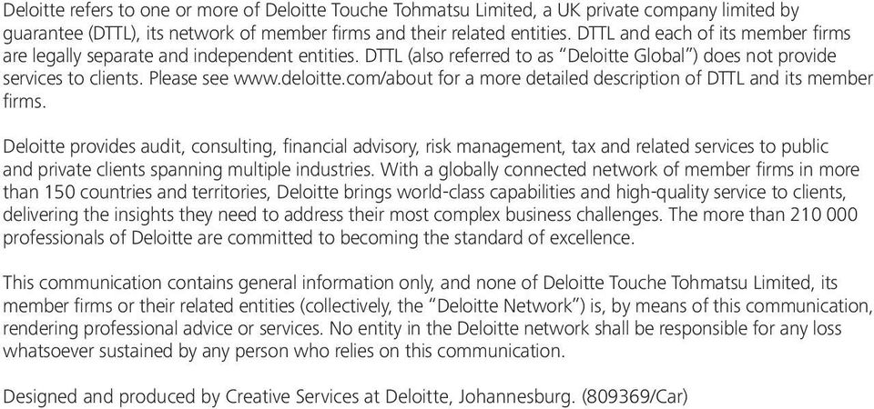 com/about for a more detailed description of DTTL and its member firms.