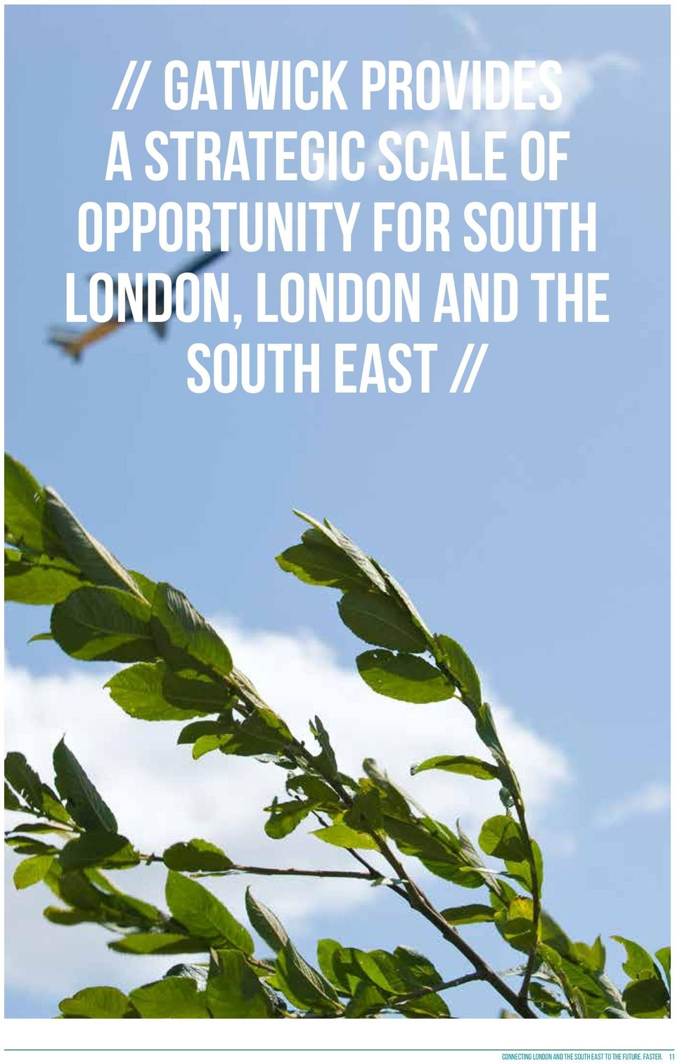 the South East // Connecting London and