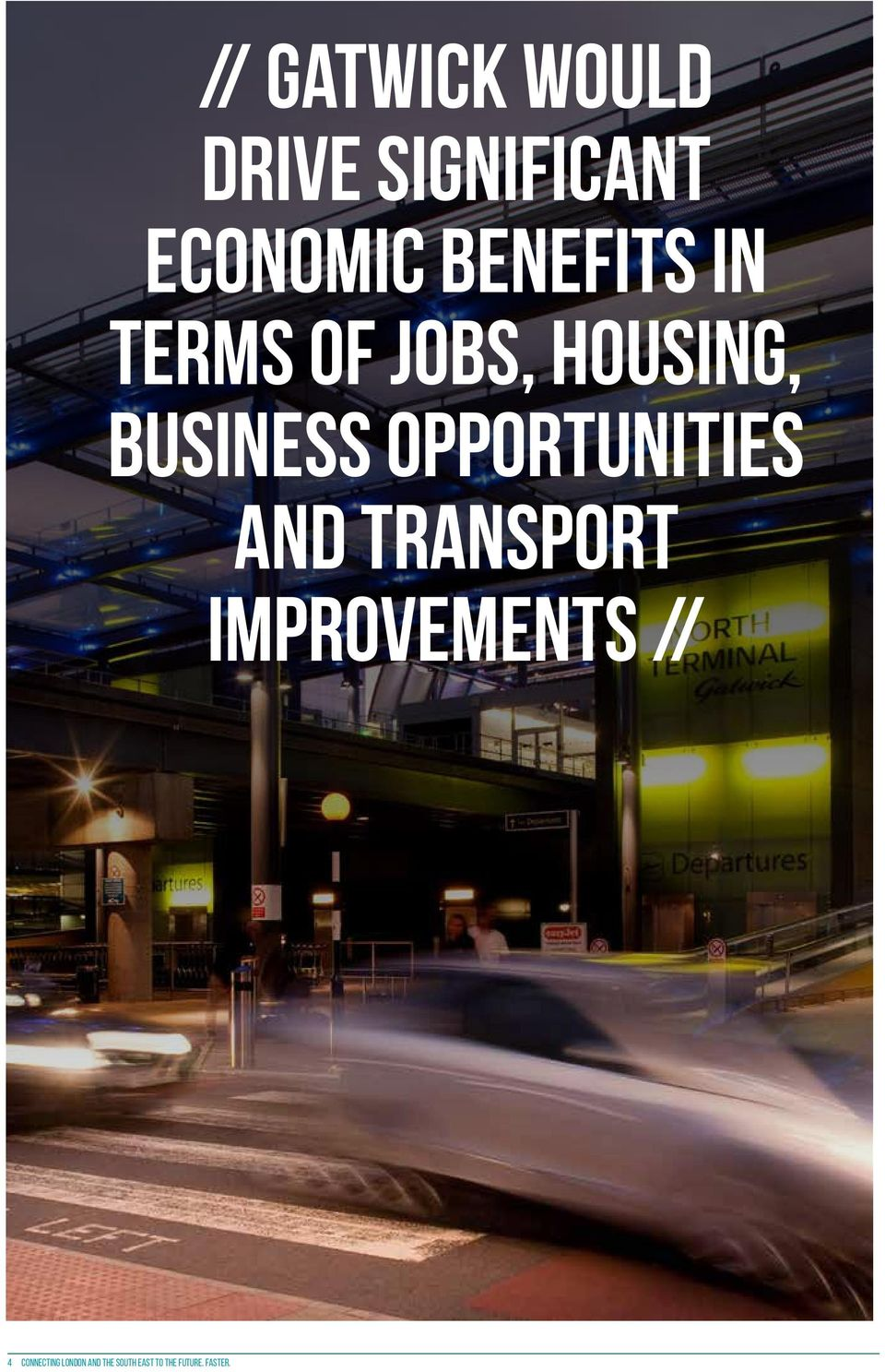 opportunities and transport improvements // 4