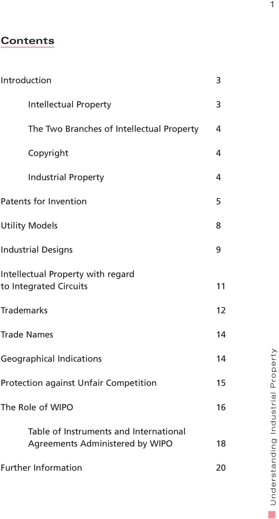 regard to Integrated Circuits 11 Trademarks 12 Trade Names 14 Geographical Indications 14 Protection against Unfair