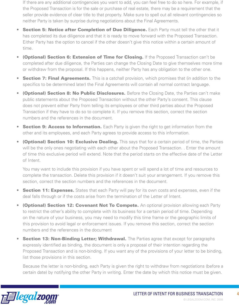 Letter Of Intent For Business Proposal from docplayer.net