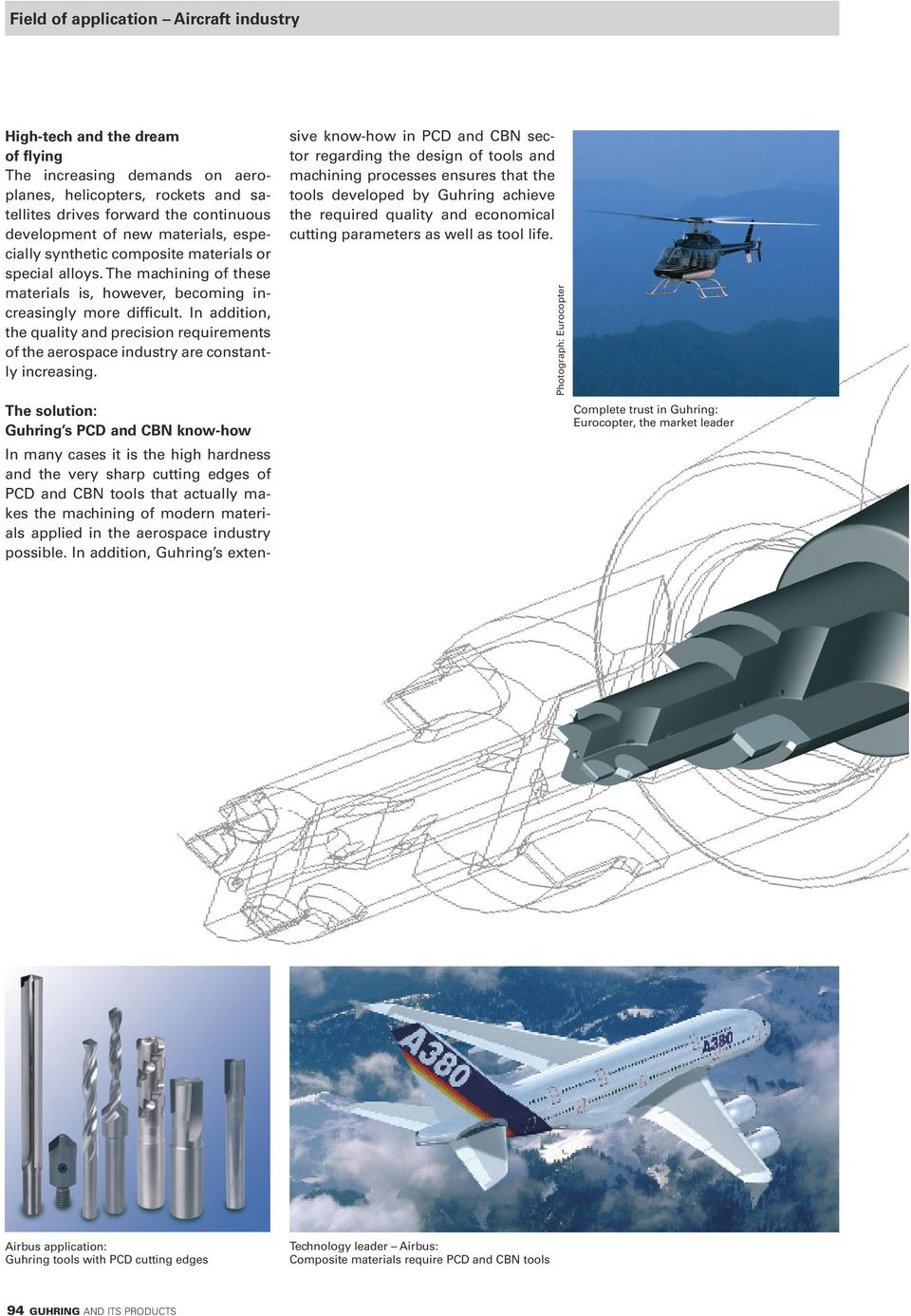 In addition, the quality and precision requirements of the aerospace industry are constantly increasing.