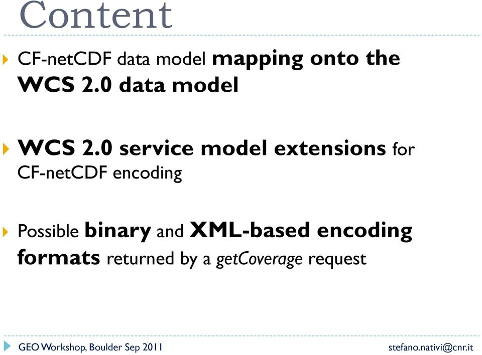 0 service model extensions for CF-netCDF encoding }