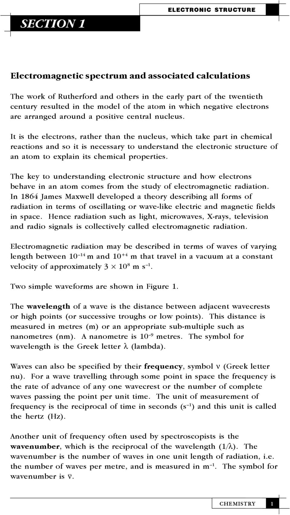 Electromagnetic Spectrum And Associated Calculations Pdf