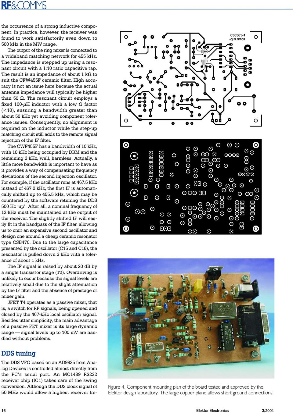 Build Your Own Drm Receiver Pdf The Schematic Diagram Below Besides Sdr Likewise Fm Result Is An Impedance Of About K To Suit Cfw4f Ceramic Filter High