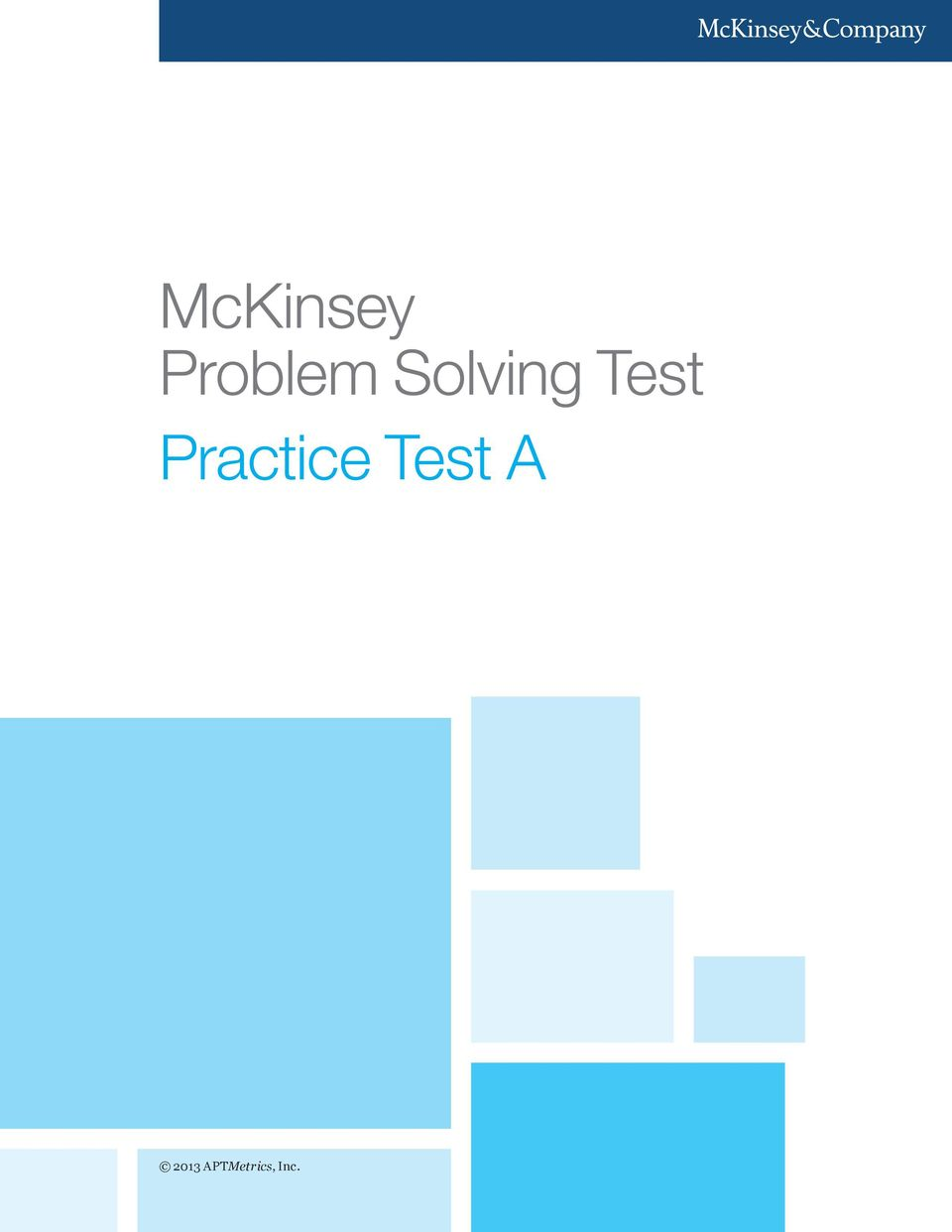 Practice Test A
