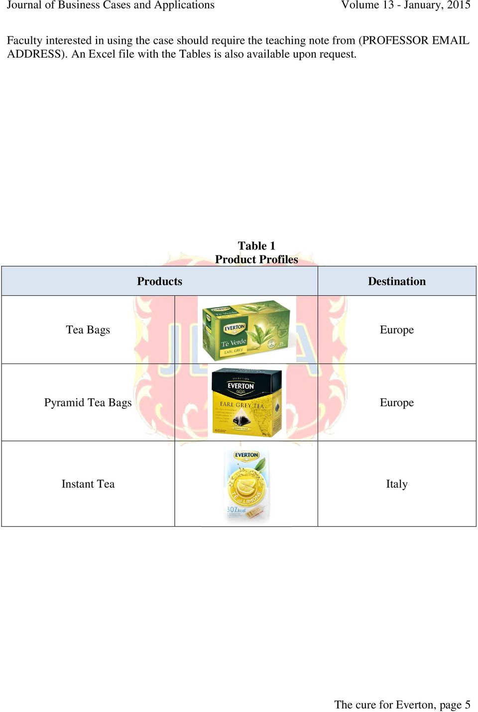 An Excel file with the Tables is also available upon request.