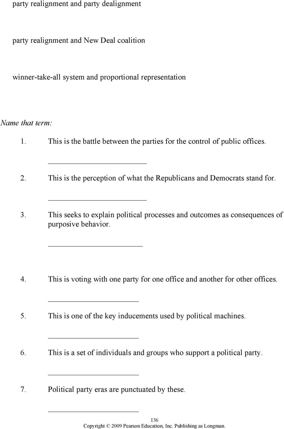 worksheet The Populist Movement The Value Of Third Parties Worksheet Answers chapter 8 political parties outline pdf this seeks to explain processes and outcomes as consequences of purposive behavior 4