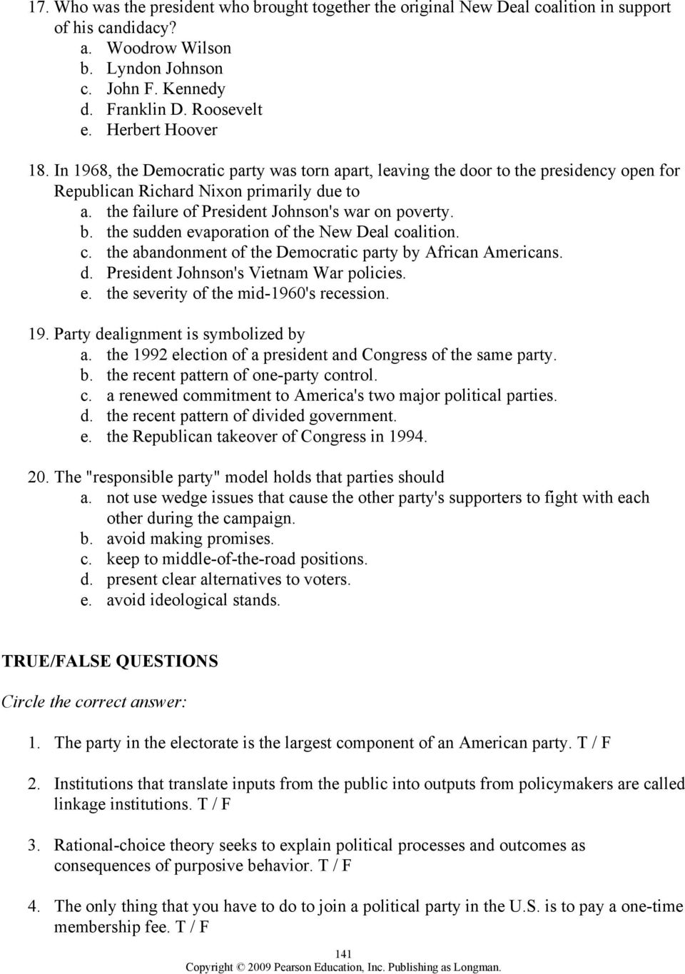 worksheet The Populist Movement The Value Of Third Parties Worksheet Answers chapter 8 political parties outline pdf the failure of president johnsons war on poverty b sudden evaporation the