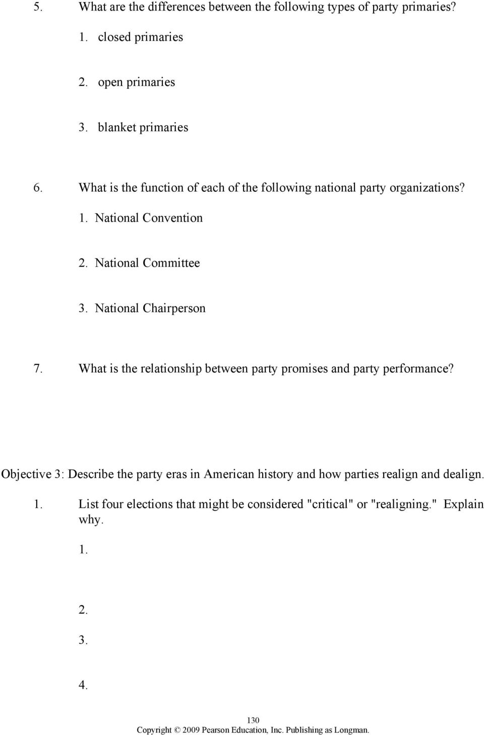 worksheet The Populist Movement The Value Of Third Parties Worksheet Answers chapter 8 political parties outline pdf what is the relationship between party promises and performance
