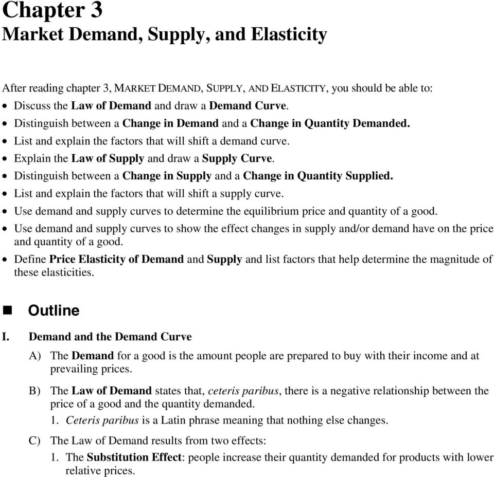 Distinguish between a Change in Supply and a Change in Quantity Supplied. List and explain the factors that will shift a supply curve.